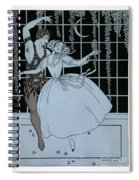 Spectre De La Rose Spiral Notebook