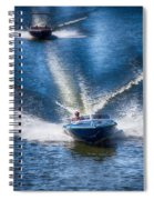 Speed On The Water Spiral Notebook