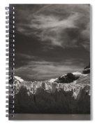 Spegazzini Glacier Argentina Spiral Notebook
