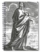 Speusippus, Ancient Greek Philosopher Spiral Notebook