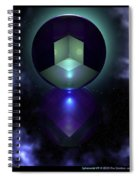 Spheramid 9  Spiral Notebook