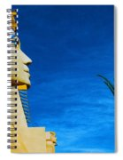 Sphinx And Palm Trees Las Vegas Spiral Notebook
