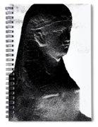 Sphinx Statue Torso Black And White Usa Spiral Notebook
