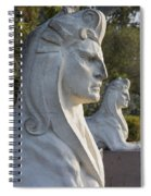 Sphinxes Spiral Notebook
