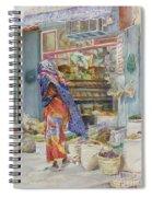 Spice Shop Spiral Notebook