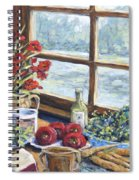 Spice Table By Prankearts Spiral Notebook
