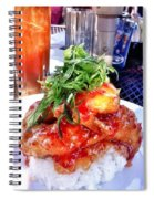 Spicy Sweet Chicken Spiral Notebook