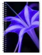 Spider Lilly  Spiral Notebook