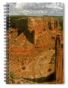 Spider Rock - Canyon De Chelly Spiral Notebook