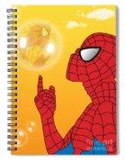 Spiderman 3 Spiral Notebook