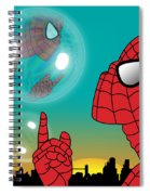 Spiderman 4 Spiral Notebook