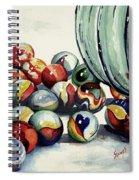 Spilled Marbles Spiral Notebook