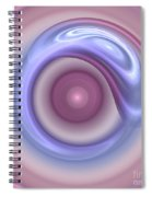 Spilled Silk Spiral Notebook