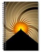 Spin Art Spiral Notebook