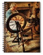 Spinnin' Spinster Spiral Notebook