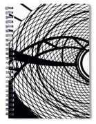 Spinning My Wheels Spiral Notebook