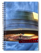 Spinning Up The Universe Spiral Notebook