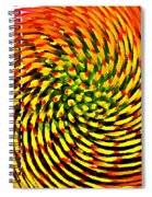 Spinning Watercolor  Spiral Notebook