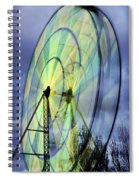 Spinning Wheel Spiral Notebook