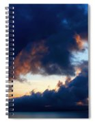 Spiral Clouds Spiral Notebook