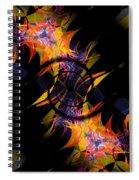 Spiral Of Burning Desires Spiral Notebook