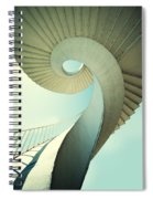 Spiral Stairs In Pastel Tones Spiral Notebook