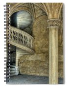 Spiral Stairway And Red Door Spiral Notebook