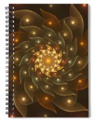 Spiral Wings Spiral Notebook
