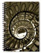 Spirals Down Spiral Notebook
