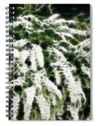 Spirea Expressive Brushstrokes Spiral Notebook