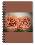 Spirit Dance Roses Art Prints Spiral Notebook