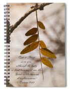 Spirit Is Life Spiral Notebook