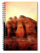 Spirit Mountain Spiral Notebook
