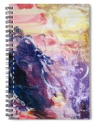 Spirit Of Life - Abstract 1 Spiral Notebook
