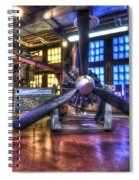 Spirit Of St.louis Engine Spiral Notebook