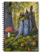 Spirit Of The Forest Spiral Notebook