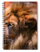 Spirit Of The Lion Spiral Notebook