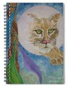 Spirit Of The Mountain Lion Spiral Notebook