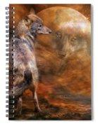 Spirit Of The Wolf Spiral Notebook