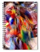Spirits 3 Spiral Notebook