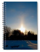 Spirits Light Spiral Notebook