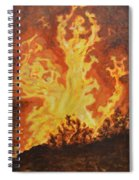 Spirits Of Sati Spiral Notebook