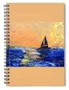 Spirits Rise As The Sails Fill Spiral Notebook