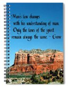 Spiritual Laws Spiral Notebook