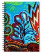 Spiro Gyra Spiral Notebook