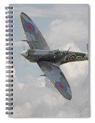Spitfire - Elegant Icon Spiral Notebook