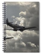 Spitfire Wingman Spiral Notebook