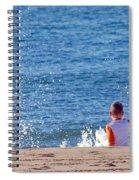Splash Conductor Spiral Notebook