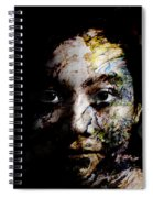Splash Of Humanity Spiral Notebook