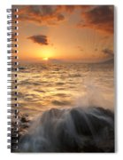 Splash Of Paradise Spiral Notebook